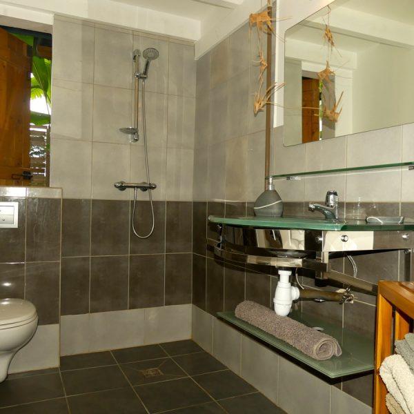 18 salle d'eau toilette douche lavabo