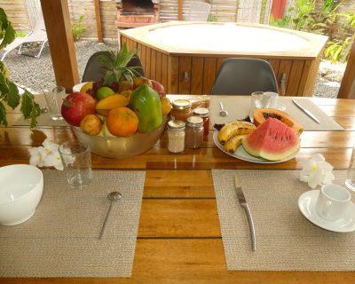 E fruit et petit dejeune